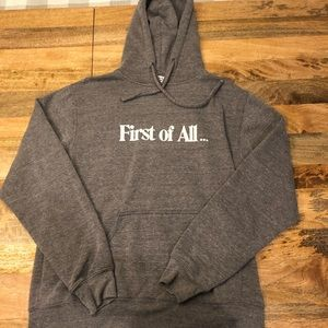 """""""First of All"""" Sub_urban Riot Hoodie"""